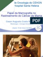 V - Mamografia // Dr. Cesar Machado