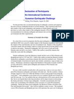 Declaration of Participants White Paper