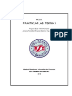 Modul LTK 1 BSI 4 Sks