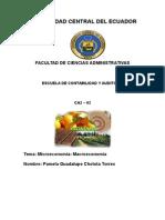 Macro-micro Economía Proyecto 2