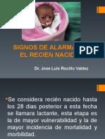 Signos de Alarma en El Recien Nacido (1)
