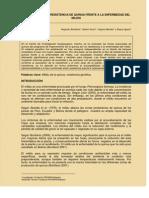 Evaluacion de La Resistencia de Quinua(Agr)