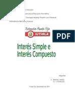INTERES SIMPLE Y COMPUESTO.docx