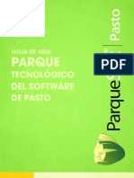 Hoja Vida ParqueSoft Pasto 2015