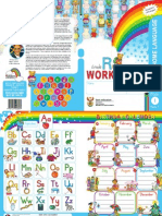 kindergarten english workbook