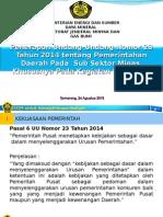 Uu No. 23 Thn 2014 Tentang Pemerintahan Daerah