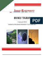 Buku Tarif Elektrik Bagi Sabah Dan WP Labuan_01Jan2014 - BM