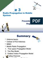 Module 3 Radio mobile propagation system