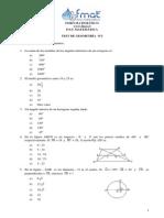 Test de Geometria N 2 CEAT