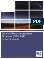 SRS Booklet for HSC Students- University Information