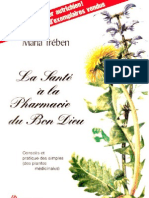 La Santé  la Pharmacie du Bon Dieu-Maria Trében-