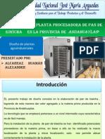 Diseño de Una Planta Procesadora de Pan
