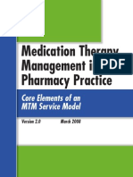 Core Elements in Medication Therapy Management