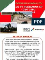 Pengenalan Lapangan KSO PEP-GCI