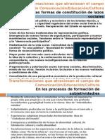 Transformaciones en El Campo Comunicacion Educacion Cultura