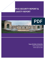 TCU Annual Security Report 2015