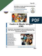 CUADRO DE MANDO INTEGRAL-Proyecto Social Cuna Jardin