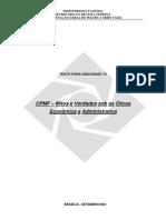 Curso IDP-Professor Weder de Oliveira-Texto14-CPMF-Mitos e Verdades-Receita Federal