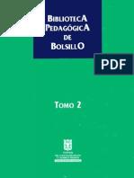 Biblioteca Pedagogica de Bolsillo Tomo 2