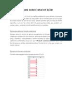 Herramientas Formato Condicional en Excel