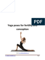 Yoga Poses for Fertility and Conception