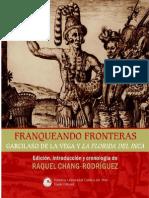 Franqueando Fronteras Garcilaso de La Vega y La Florida Del Inca 0