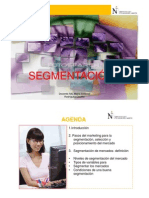 Marketing Empresarial. Segmentacion