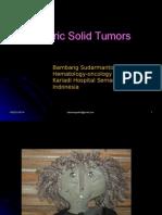 Pediatric Solid Tumors Kuliah S1