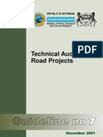 Botswana_Guideline 7 - Technical Auditing of Road Projects (2001) (1)