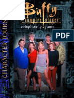 Buffy the Vampire Slayer Character Journal