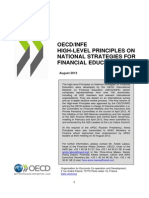 OECD INFE High Level Principles National Strategies Financial Education APEC