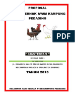 Proposal Usaha Ayam Kampung