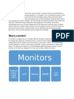 Reflective Essay Monitor