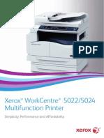Xerox 5022