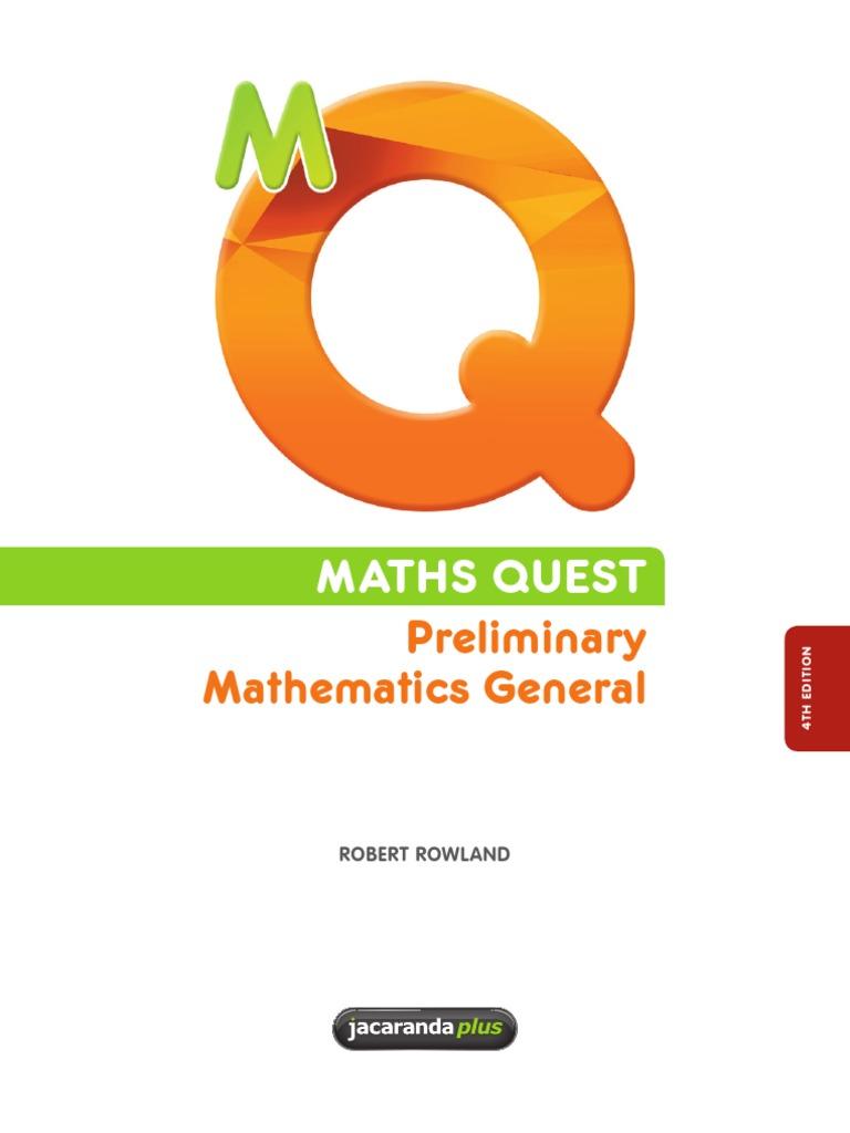 Maths quest preliminary mathematics general 4th edition salary maths quest preliminary mathematics general 4th edition salary pension fandeluxe Gallery