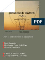 Introduction to Electricity
