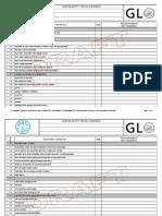 GL Checklist