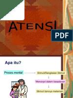 Slide Kuliah Psikologi Persepsi - ATENSI