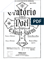 Saint Saens-Oratorio de Noel-Partition Chant Et Piano