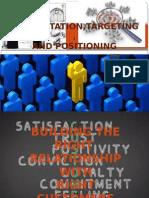 Marketing Project STP