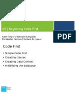 02 - Beginning Code First.pptx