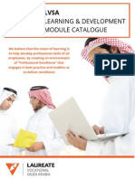 LVSA Training Catalogue & Booking Process
