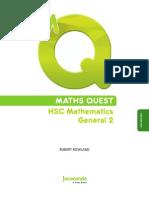 MATHS QUEST HSC Mathematics General 2 (4th Edition)