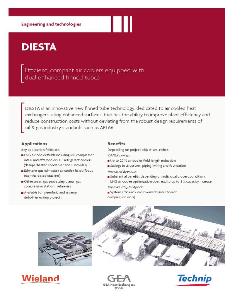 Flyer Diesta Web | Heat Exchanger | Gas Compressor