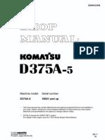 D375A 5 Workshop Manual