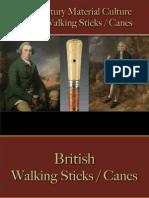 Personal Effects - British Walking Sticks