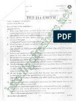 APTET 2014 Maths & Science Question Paper II with Key