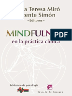 Mindfulness en La Practica Clinica - Teresa & Simon