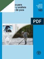 FAO 2007, Guía Técnica Para Producción y Análisis de Almidón de Yuca
