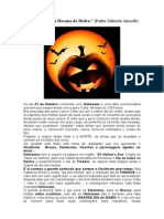 O Halloween é o Hosana Do Diabo